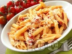 Пикантно пене с домати, кайма и пармезан - снимка на рецептата